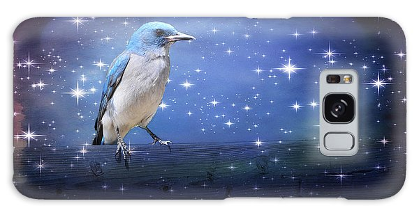 Mexican Blue Jay Galaxy Case