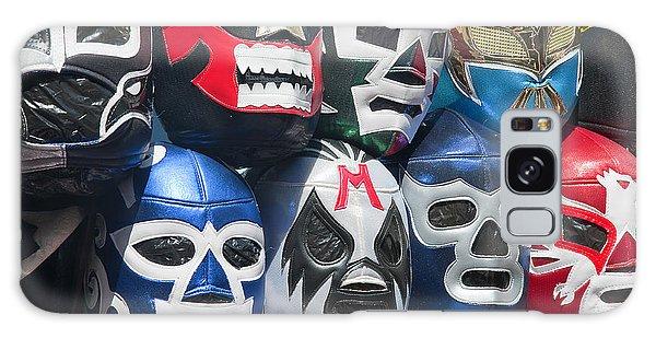 Mexican Head Masks Galaxy Case