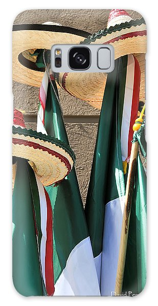 Mexican Independence Day - Photograph By David Perry Lawrence Galaxy Case by David Perry Lawrence