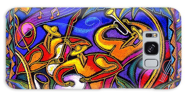 Latin Music Galaxy Case by Leon Zernitsky