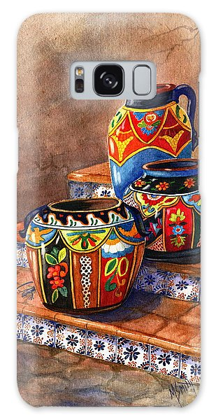 Mexican Pottery Still Life Galaxy Case