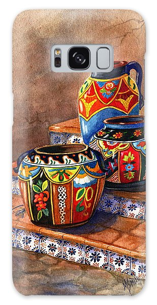 Mexican Pottery Still Life Galaxy Case