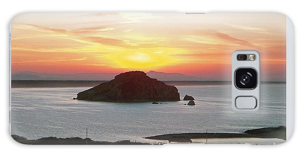 Mexican Riviera Sunset Galaxy Case
