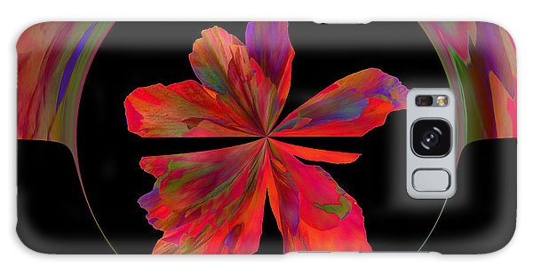 Mexico Hibiscus Series 6 Galaxy Case