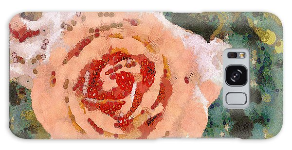 Alameda Meyers House Garden Klimt Rose Galaxy Case by Linda Weinstock