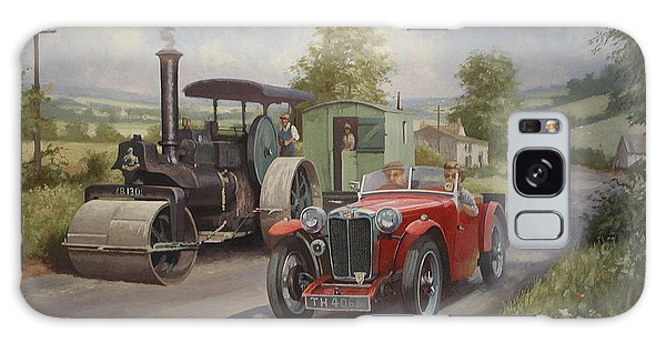Mg Sports Car. Galaxy Case by Mike  Jeffries