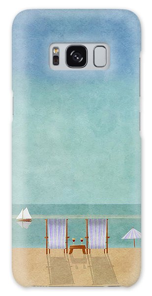 Minimal Galaxy Case - Mgl - Bathers 02 by MGL Meiklejohn Graphics Licensing