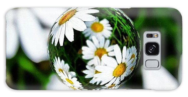 Summer Galaxy Case - #mgmarts #daisy #flower #weed #summer by Marianna Mills
