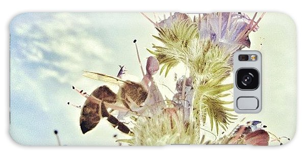 Summer Galaxy Case - #mgmarts #flower #spring #summer #bee by Marianna Mills