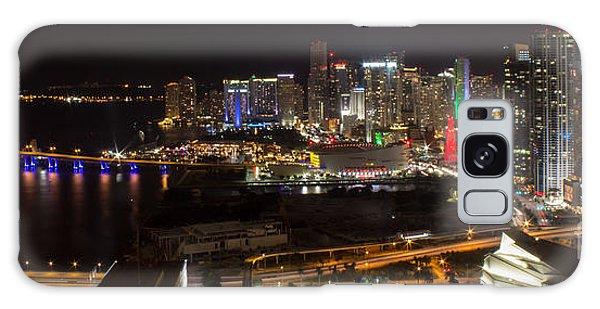 Miami After Dark II Skyline  Galaxy Case