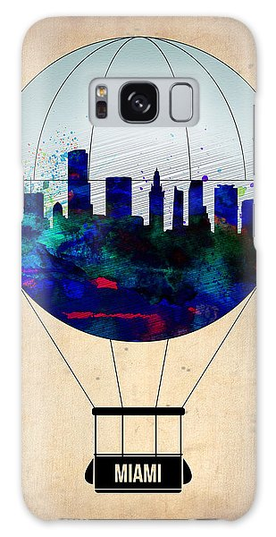 Florida Galaxy Case - Miami Air Balloon by Naxart Studio