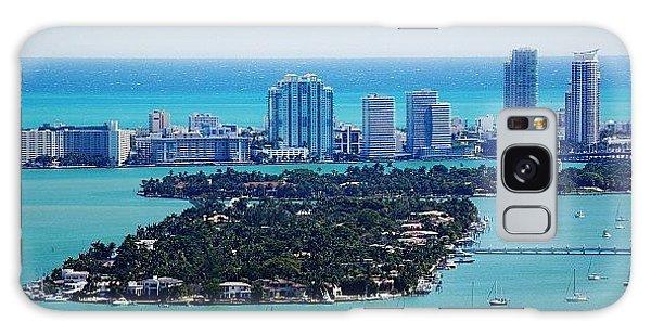 Iger Galaxy Case - Miami Beach & Biscayne Bay by Joel Lopez