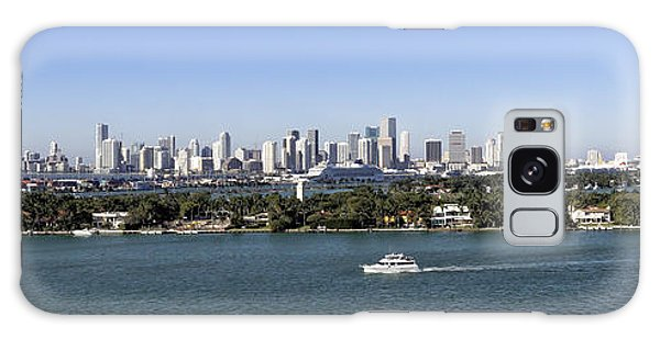 Miami Daytime Panorama Galaxy Case