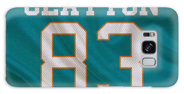 Clayton Galaxy Case - Miami Dolphins Mark Clayton by Joe Hamilton