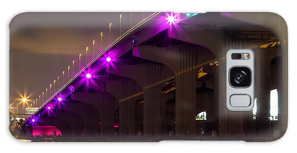 Miami Macarthur Causeway Bridge Galaxy Case