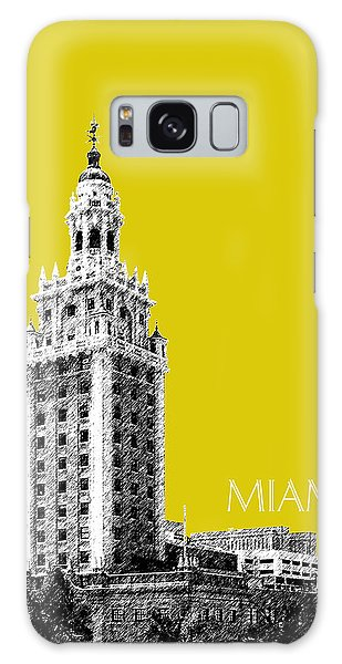 Miami Skyline Freedom Tower - Mustard Galaxy Case