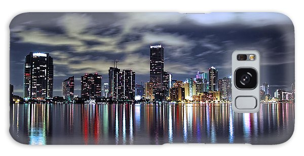Miami Skyline Galaxy Case