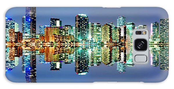 Miami Skyline Panorama Galaxy Case