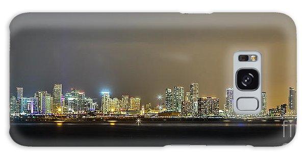 Miami Skyline View II Galaxy Case