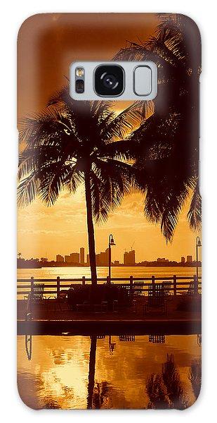Miami South Beach Romance II Galaxy Case
