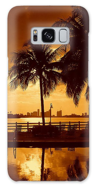 Miami South Beach Romance II Galaxy Case
