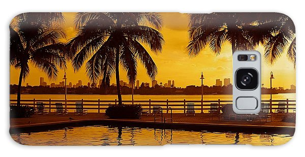 Miami South Beach Romance Galaxy Case