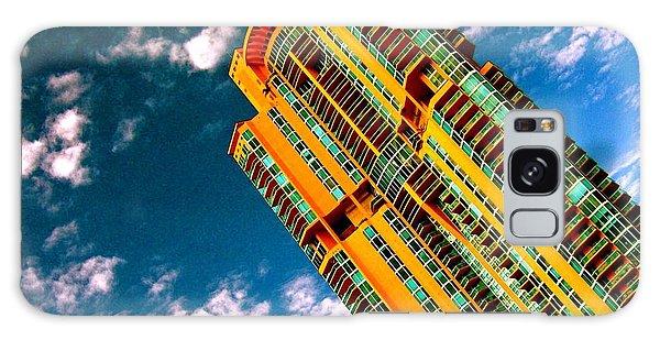 Miami South Pointe Highrise Galaxy Case