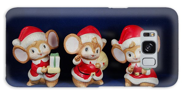 Mice Holiday Galaxy Case