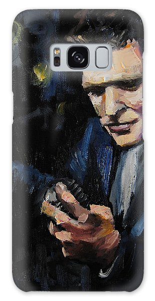Michael Buble Galaxy Case by Carole Foret