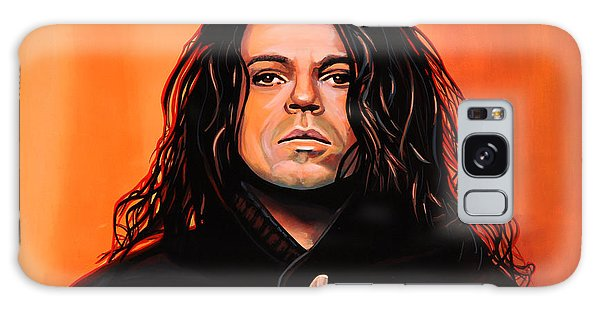 Cd Galaxy Case - Michael Hutchence Painting by Paul Meijering