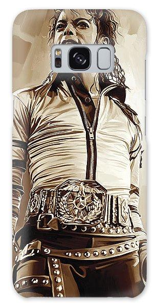 Michael Jackson Artwork 2 Galaxy Case