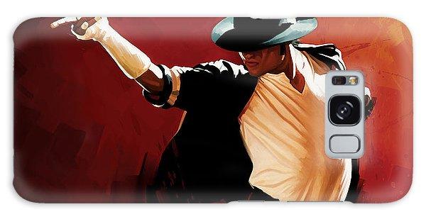 Michael Jackson Artwork 4 Galaxy Case