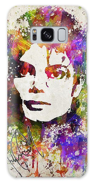 Michael Jackson In Color Galaxy Case by Aged Pixel