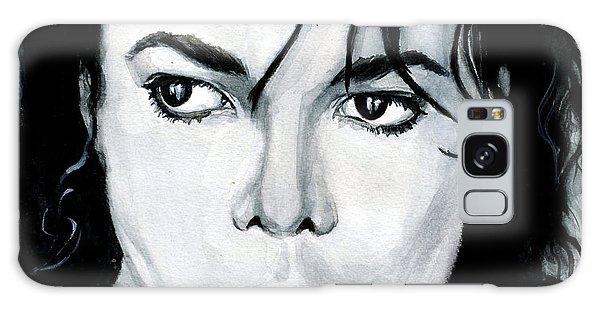 Michael Jackson Portrait Galaxy Case