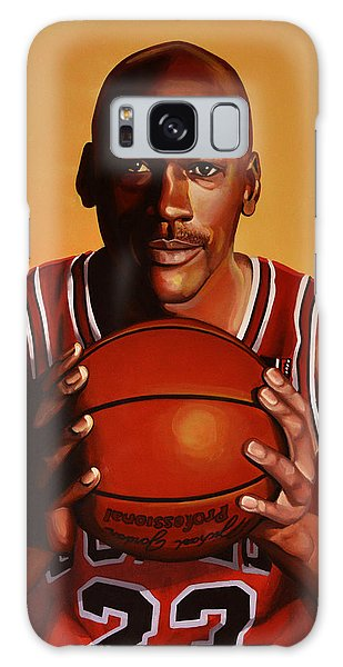 Michael Jordan 2 Galaxy Case