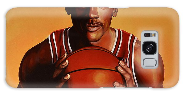 Basket Galaxy Case - Michael Jordan 2 by Paul Meijering