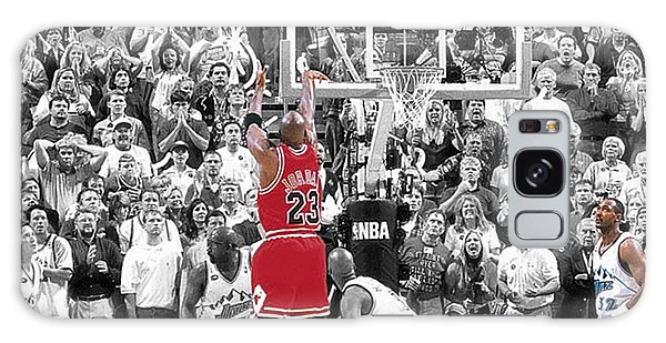 Michael Jordan Buzzer Beater Galaxy Case