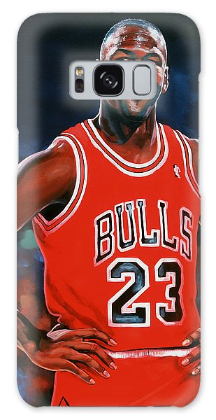 Sportsman Galaxy Case - Michael Jordan by Paul Meijering