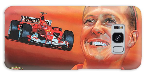 Sportsman Galaxy Case - Michael Schumacher 2 by Paul Meijering