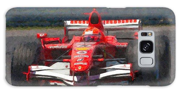 Michael Schumacher Canadian Grand Prix I Galaxy Case