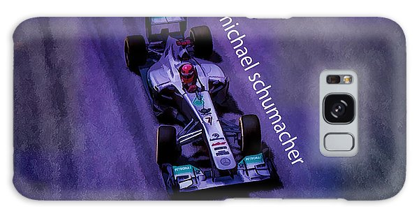 Michael Schumacher Galaxy Case by Marvin Spates