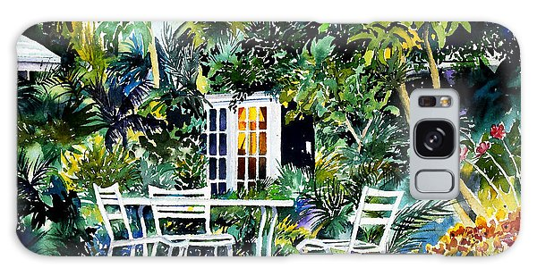 Michelle And Scott's Key West Garden Galaxy Case