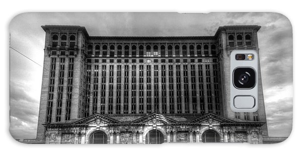 Michigan Central Station Bw Galaxy Case