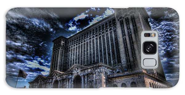 Michigan Central Station Hdr Galaxy Case