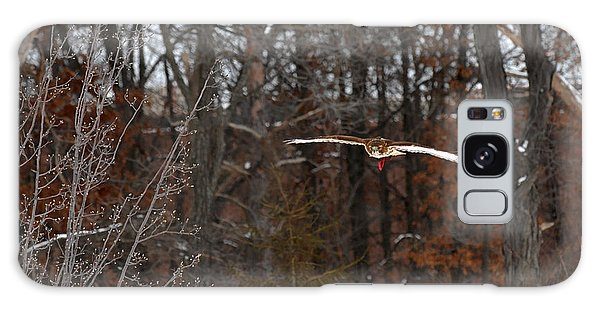 Michigan Redtail Hawk Galaxy Case