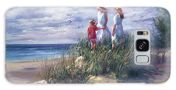 Brothers Galaxy Case - Michigan Shore Memories  by Laurie Snow Hein