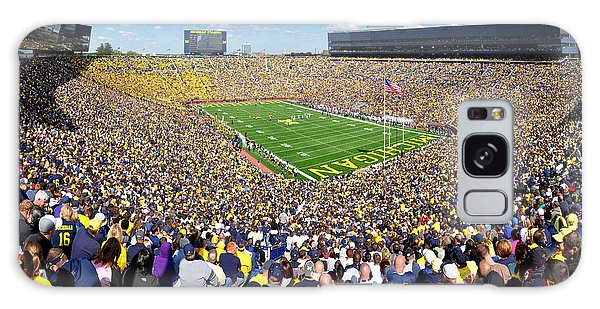 Michigan Stadium - Wolverines Galaxy Case
