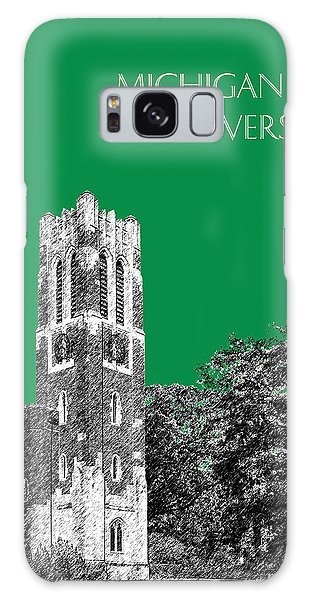 Michigan State University - Forest Green Galaxy Case by DB Artist