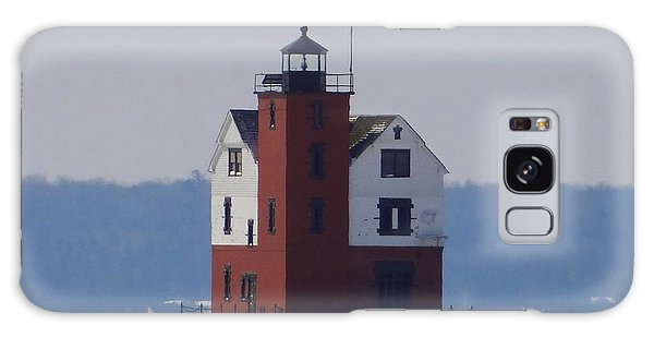 Michigan's Round Island Lighthouse Galaxy Case