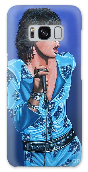 Rolling Stone Magazine Galaxy Case - Mick Jagger by Paul Meijering